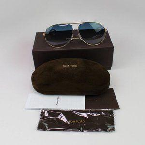 Tom Ford Men Sunglasses Blue Gradient Lens